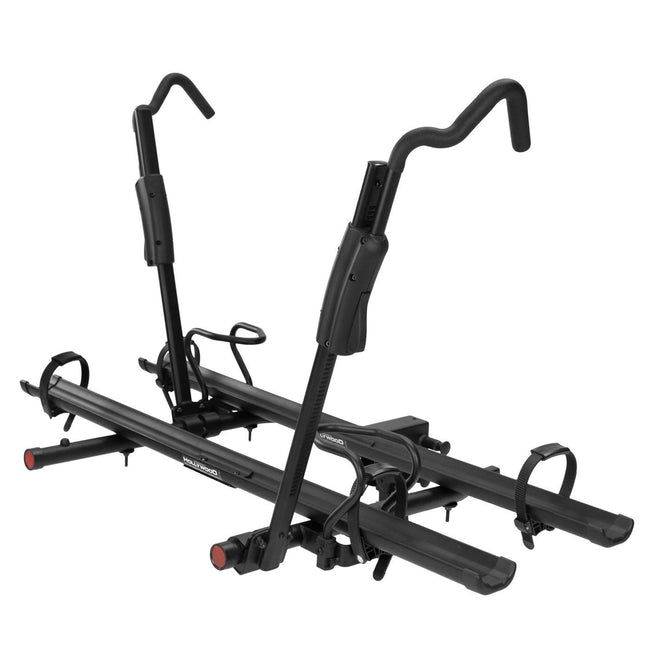 "Hollywood TRS Hitch Bike Rack-Bicycle Automobile Carriers-Hollywood-1-1/4 & 2"" with adaptor-Voltaire Cycles of Verona"