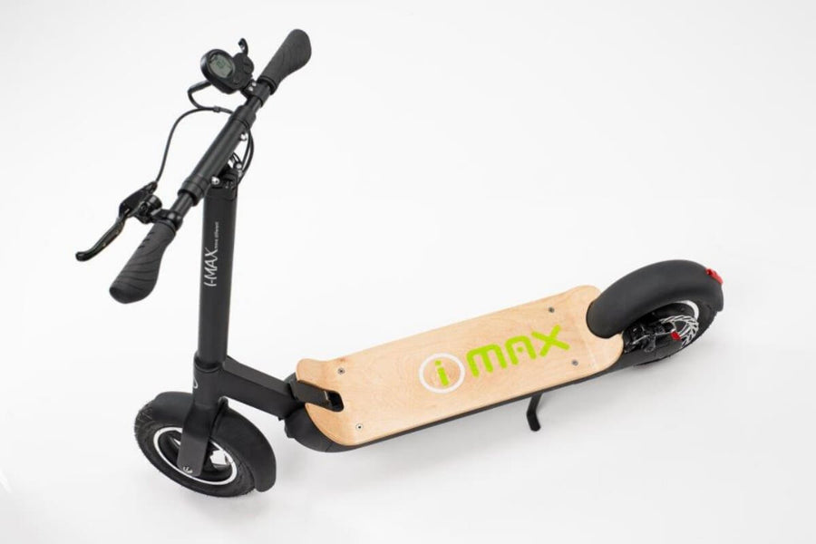 Magnum IMax S1+ Electric Scooter-Electric Scooter-Magnum-Green-Voltaire Cycles of Verona