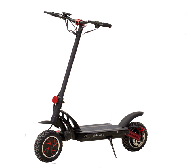 iMoving Street Scooter-Electric Scooter-Imovingtech-Black-Voltaire Cycles of Verona