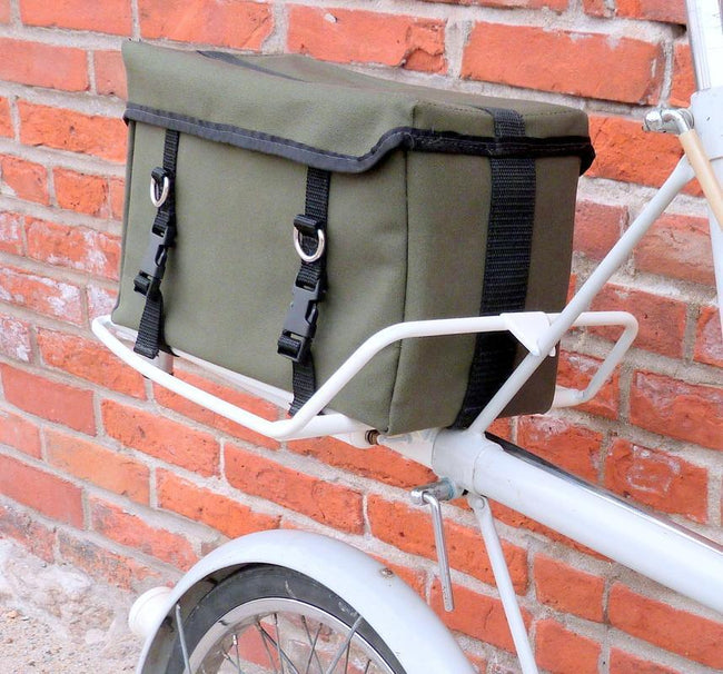 Ironweed Dolliver Bicycle Trunk Bag-Bicycle Trunk Bags-Ironweed Bike Products-Voltaire Cycles of Verona