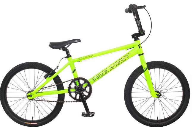 KHS Eluder BMX Bike-Basic Bicycles-Free Agent Bicycles-Voltaire Cycles of Verona