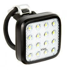 KNOG Blinder Mob Kid Grid Front Bicycle LIght-Bicycle Lights-KNOG-Voltaire Cycles of Verona