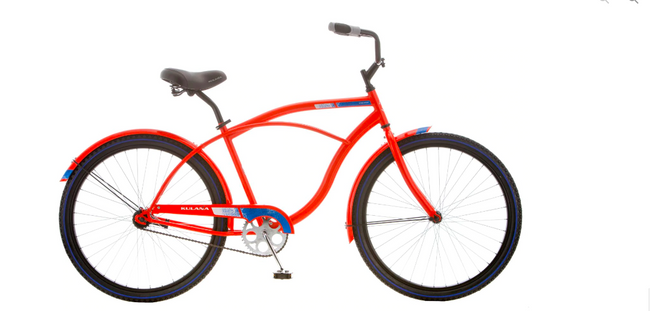 "Kulana Men's Bicycle Makana 26"" Vintage Beach Cruiser Bike-Basic Bicycles-Kulana-Voltaire Cycles of Verona"