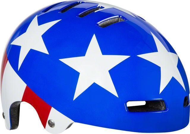 Lazer Street Plus Jr. Helmet: Easy Rider-Helmets-Lazer-Voltaire Cycles of Verona