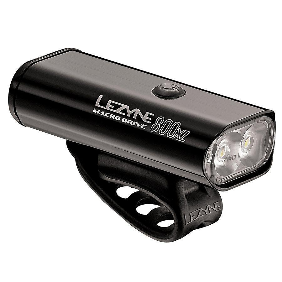 Lezyne Macro Drive 800XL Bicycle Light-Bicycle Lights-Lezyne-Voltaire Cycles of Verona