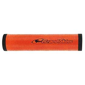 Lizard Skins Dsp 323mm Grips 130mm Orange Pair-Grips and Handlebar Tape-Lizard Skins-Voltaire Cycles of Verona