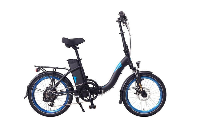 Magnum Classic II Low Step Folding Electric Bike-Electric Bicycle-Magnum-Voltaire Cycles of Verona