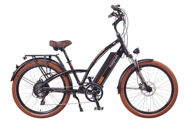 Magnum Lowrider Cruiser Electric Bike-Electric Bicycle-Magnum-Voltaire Cycles of Verona