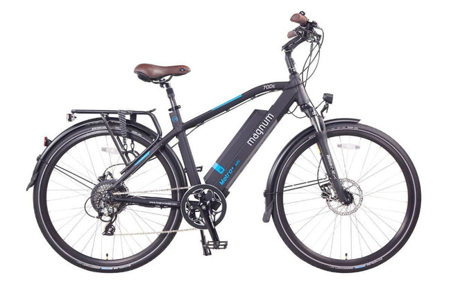 Magnum Metro+ Electric Bike City Cruiser-Electric Bicycle-Magnum-High Step-Voltaire Cycles of Verona