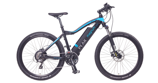 "Magnum Peak 500w Electric Mountain Bike-Electric Bicycle-Magnum-27.5""-Voltaire Cycles of Verona"