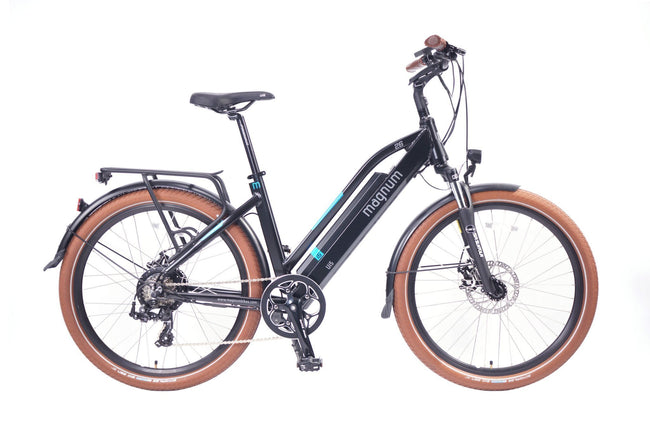 Magnum Ui5 Electric Bike-Electric Bicycle-Magnum-Matt Black-Voltaire Cycles of Verona