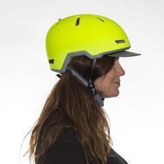 Nutcase Tracer Spark Yellow Bicycle Helmet-Helmets-Nutcase-Voltaire Cycles of Verona