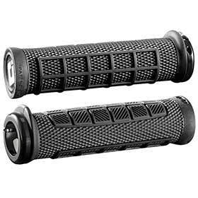 Odi Elite Pro Grips 130mm Black Pair-Grips and Handlebar Tape-ODI-Voltaire Cycles of Verona