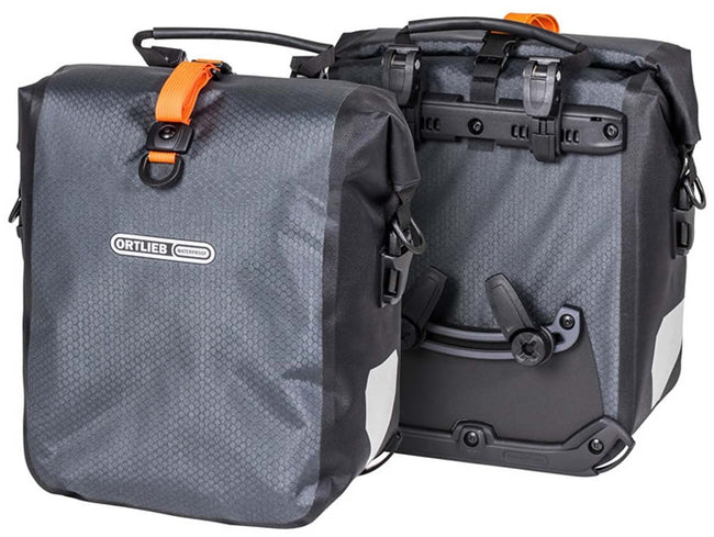 Ortlieb Gravel Pack (Pair) - Bicycle Panniers-Bicycle Panniers-Ortlieb-Voltaire Cycles of Verona