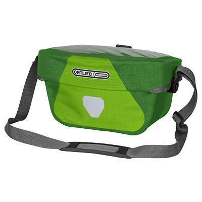 Ortlieb Ultimate6 Plus Bicycle Handlebar Bag-Bicycle Handlebar Bags-Ortlieb-5L Lime-Moss-Voltaire Cycles of Verona