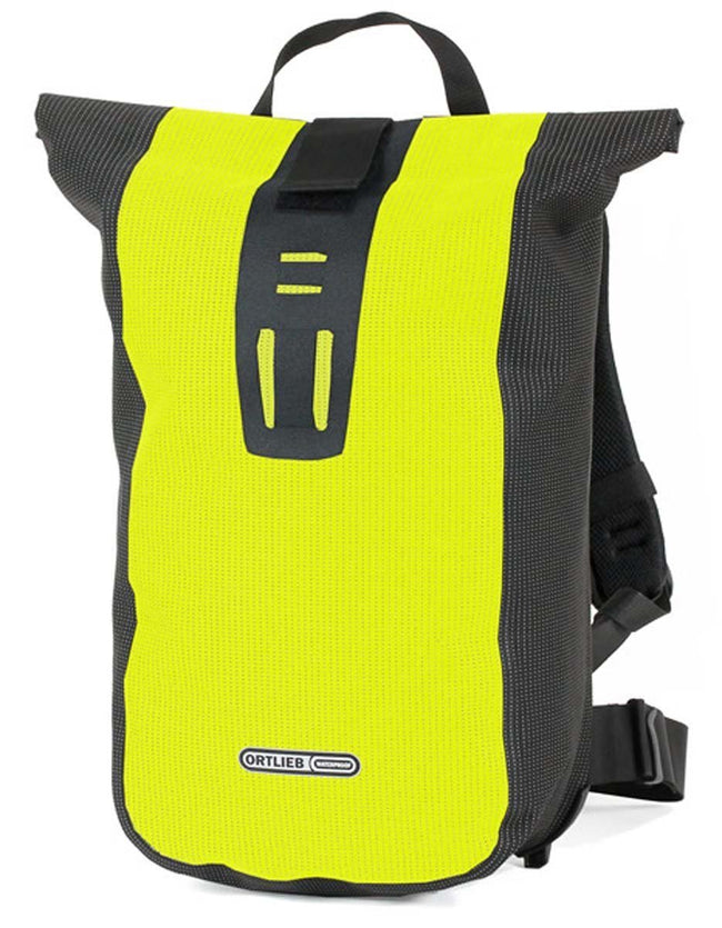 Ortlieb Velocity High Visibility-Backpacks-Ortlieb-Neon Yellow-Black Reflex-Voltaire Cycles of Verona