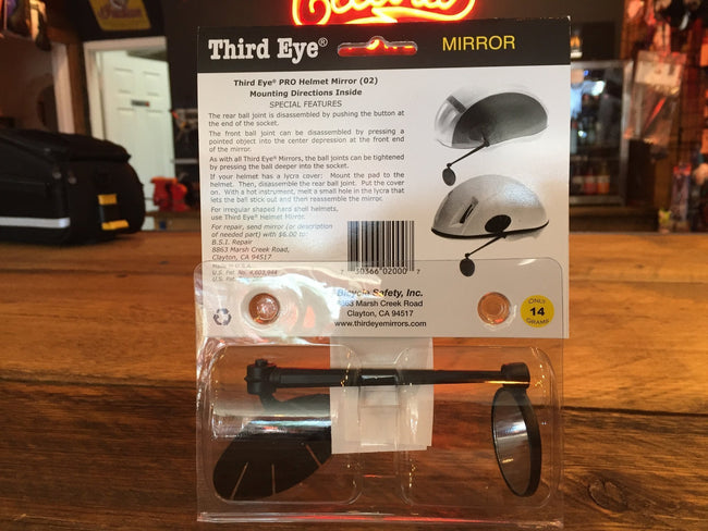 PRO Third Eye Mirror for helmet-Bicycle Mirrors-PRO-Voltaire Cycles of Verona
