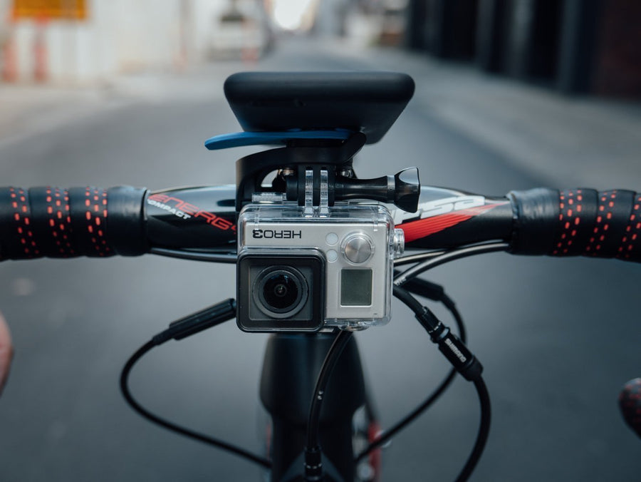 QuadLock GoPro Adapter for Out Front Mount-Bicycle Phone Mounts-Annex-Voltaire Cycles of Verona