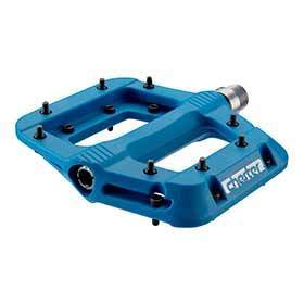 Race Face Chester Platform Pedals Body: Nylon Spindle: Cr-Mo 9/16 Blue Pair-Pedals-Race Face-Voltaire Cycles of Verona