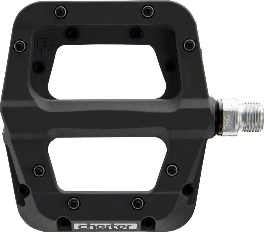 "RaceFace Chester Composite Platform Pedals 9/16""-Bicycle Pedals-RaceFace-Black-Voltaire Cycles of Verona"