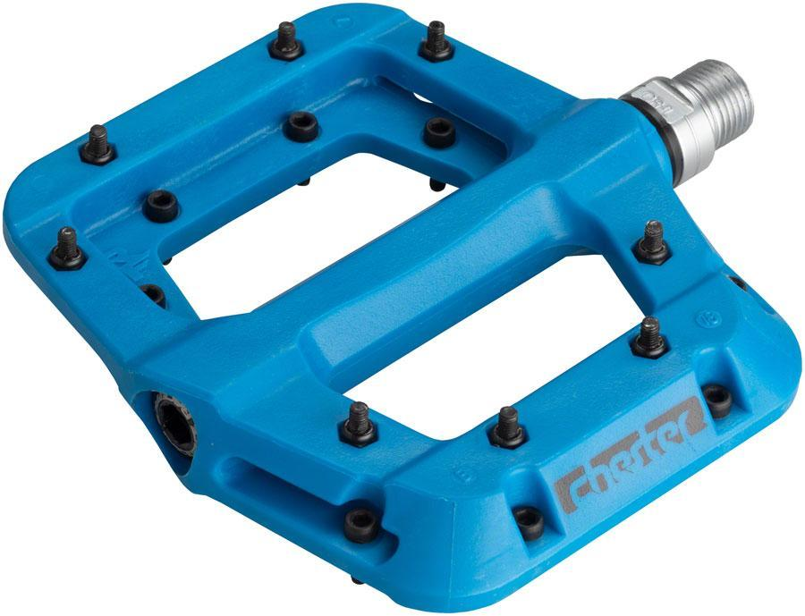 "RaceFace Chester Composite Platform Pedals 9/16""-Bicycle Pedals-RaceFace-Blue-Voltaire Cycles of Verona"