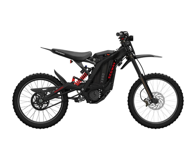 Segway Dirt eBike X260-Dirt Bike-Segway-Black-Voltaire Cycles of Verona