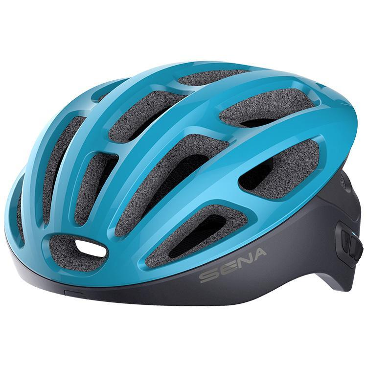 Sena R1 Bluetooth Bicycle Helmet-Helmets-Sena-Ice Blue-L 59-62cm-Voltaire Cycles of Verona