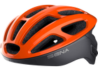 Sena R1 Bluetooth Bicycle Helmet-Helmets-Sena-Tangerine-M 55-59cm-Voltaire Cycles of Verona