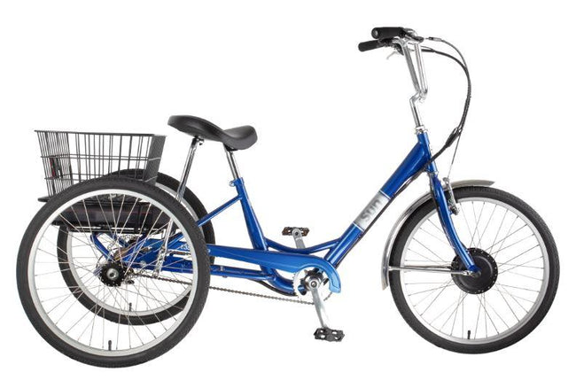 Sun Bicycles E350 Electric Trike-Adult Trikes-Sun Bicycles-Voltaire Cycles of Verona