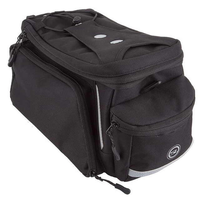 Sunlite RackPack Medium w/Side Pockets Bicycle Trunk Bag-Bicycle Trunk Bags-Sunlite-Voltaire Cycles of Verona