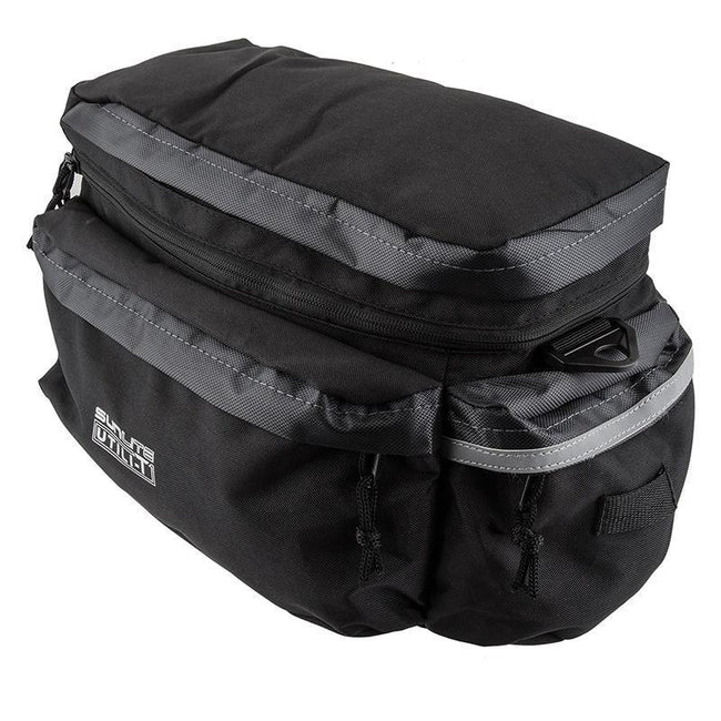 Sunlite Utili-T Rackbag II Expandable-Bicycle Trunk Bags-Sunlite-Voltaire Cycles of Verona