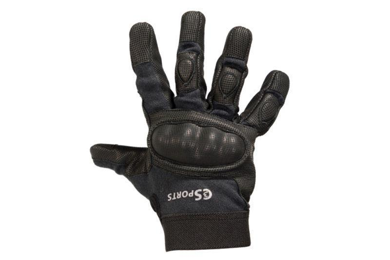 Tactical Glove - Leather with Kevlar and Hardened Knuckles-Police Accessories-C3Sports-Voltaire Cycles of Verona