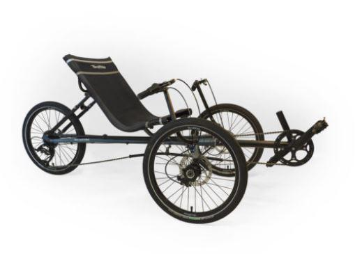 TerraTrike Maverick-Recumbent Trikes-TerraTrike-Maverick i3-Voltaire Cycles of Verona