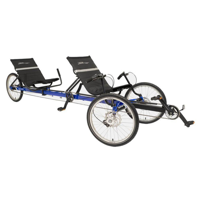 TerraTrike Rover i8 Tandem Attachment with Independent Pedal System-Recumbent Accessories-TerraTrike-Voltaire Cycles of Verona