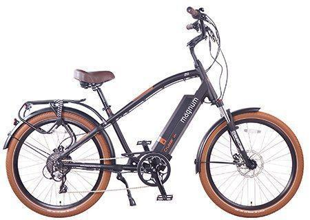 The Magnum Cruiser 500w E-Bike-Electric Bicycle-Magnum-Voltaire Cycles of Verona