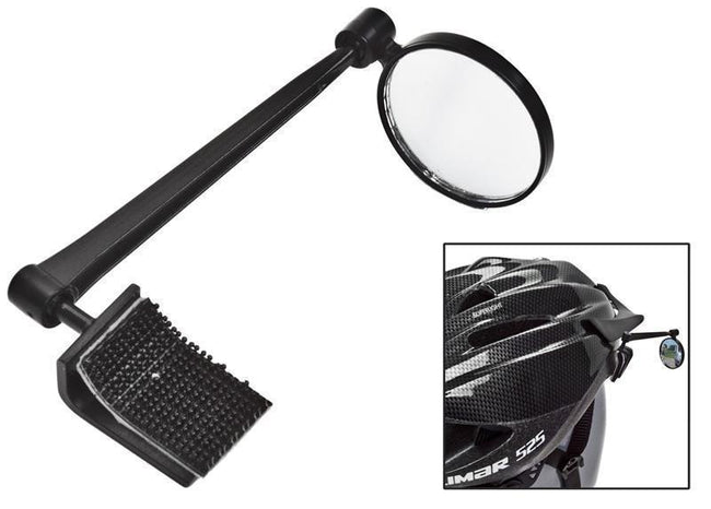 Thirdeye Clip-on FOAM Helmet Mirror-Bicycle Mirrors-Third Eye-Voltaire Cycles of Verona