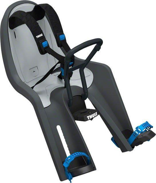 Thule RideAlong Mini Child Carrier for Bicycle-Bicycle Child Seat-Thule-Dark Gray-Voltaire Cycles of Verona