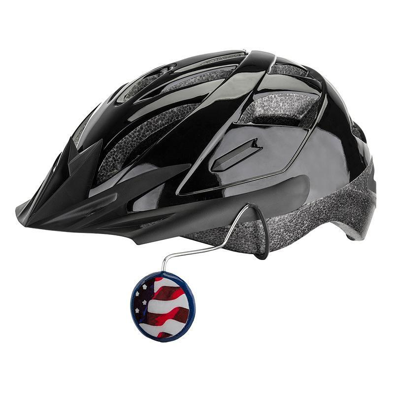 Tiger Eye Universal Helmet Mount Mirror-Bicycle Mirrors-Tiger Eye-Patriot-Voltaire Cycles of Verona