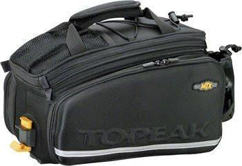 Topeak MTX Trunk Bag DXP Rack Bag with Expandable Panniers-Bicycle Trunk Bags-Topeak-Voltaire Cycles of Verona