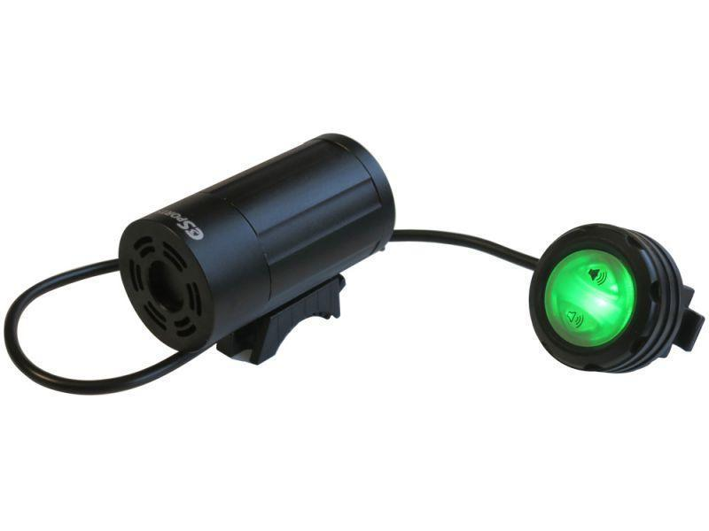 Two-Tone Police Bike Siren with USB Internal Rechargeable Battery-Police Accessories-C3Sports-Voltaire Cycles of Verona