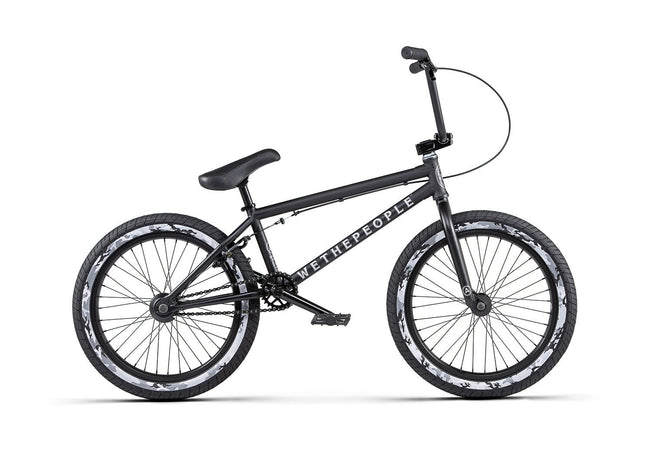 "We The People Arcade BMX Bike-Basic Bicycles-We The People-20.5""-Matte Black-Voltaire Cycles of Verona"