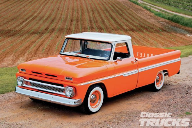 1966 Chevy C10 – Orange Twist | Hot Rod Magazine