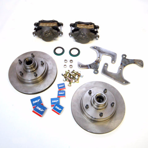 57-64 Ford F100 ECI Disc Brake Kit
