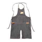 "NES&C / Hartford Denim ""Split Front"" Fabricators Apron"