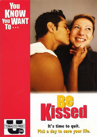 You Know You Want To… Be Kissed Postcard