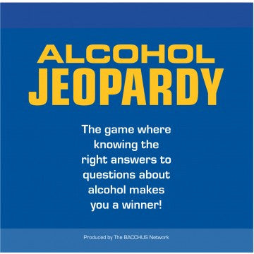 Alcohol Jeopardy