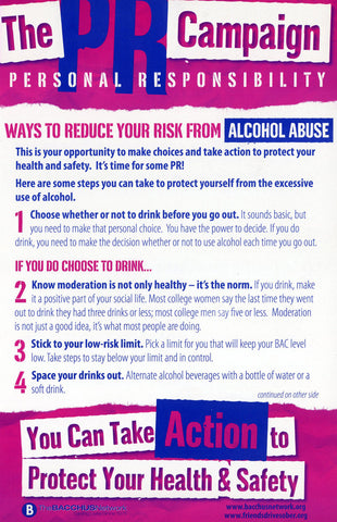 PR Campaign -Ways To Protect Yourself From Excessive Alcohol Use