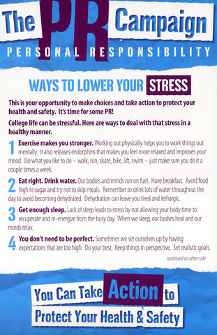 PR Campaign -Ways To Reduce Your Stress in a Healthy Manner