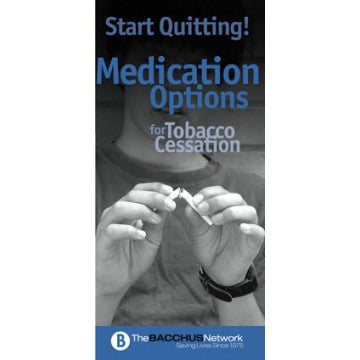 Start Quitting! Medication Options for Tobacco Cessation Pamphlet