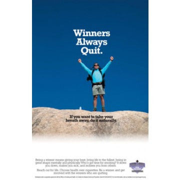 Winners Always Quit Poster